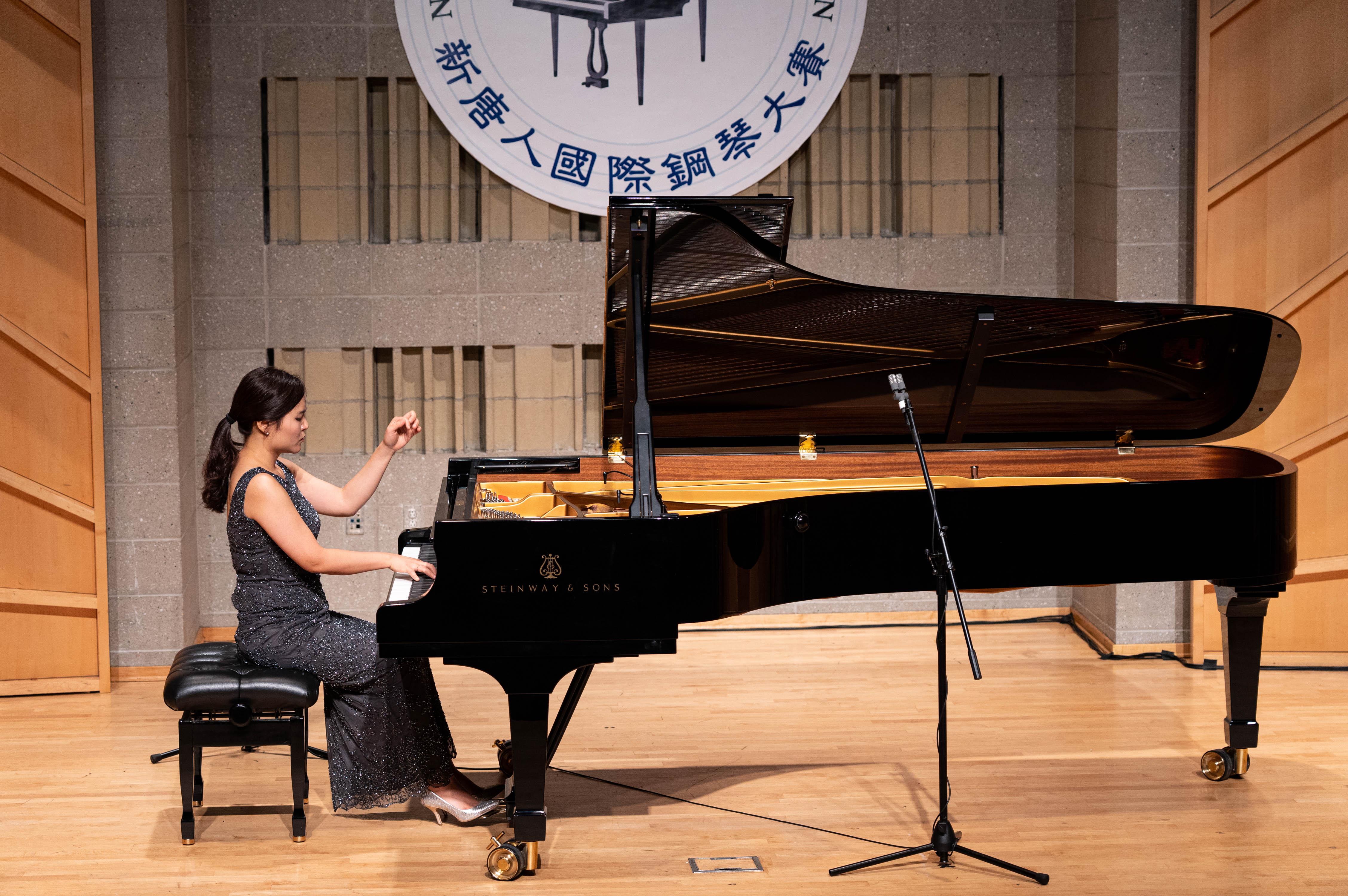 9月28日,2019第五屆新唐人國際鋼琴大賽決賽。南韓選手李祥僖(shanghie Lee)贏得本次大賽的銅獎。(戴兵/大紀元)