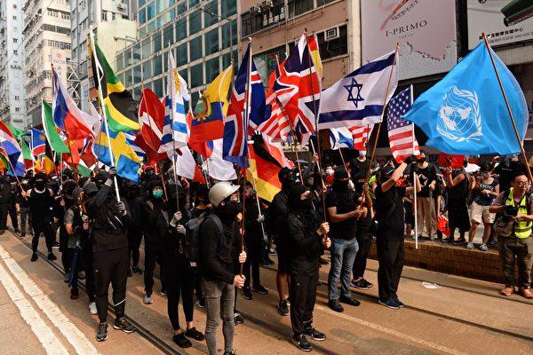 """""""全球抗共"""" 香港市民:我们要出来发声"""