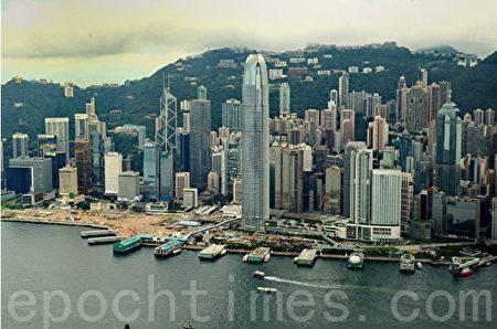 香港是全球第三大金融中心地位屹立不倒。(宋祥龍/大紀元)