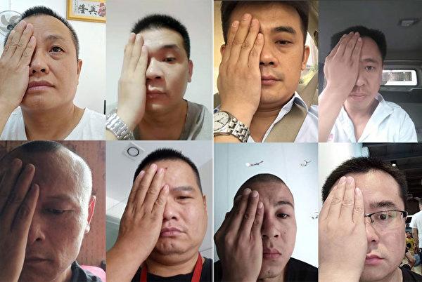 湖南株州公民聲援香港反送中。(陳思明推特)