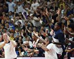 男篮世界杯八强战:美国被法国淘汰出局
