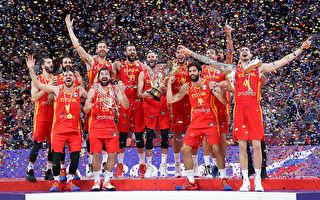 男籃世界盃:西班牙時隔13年後 再度登頂