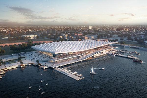 悉尼新的鱼市场