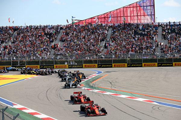 F1俄羅斯站:法拉利失好局 梅奔再攬冠亞軍