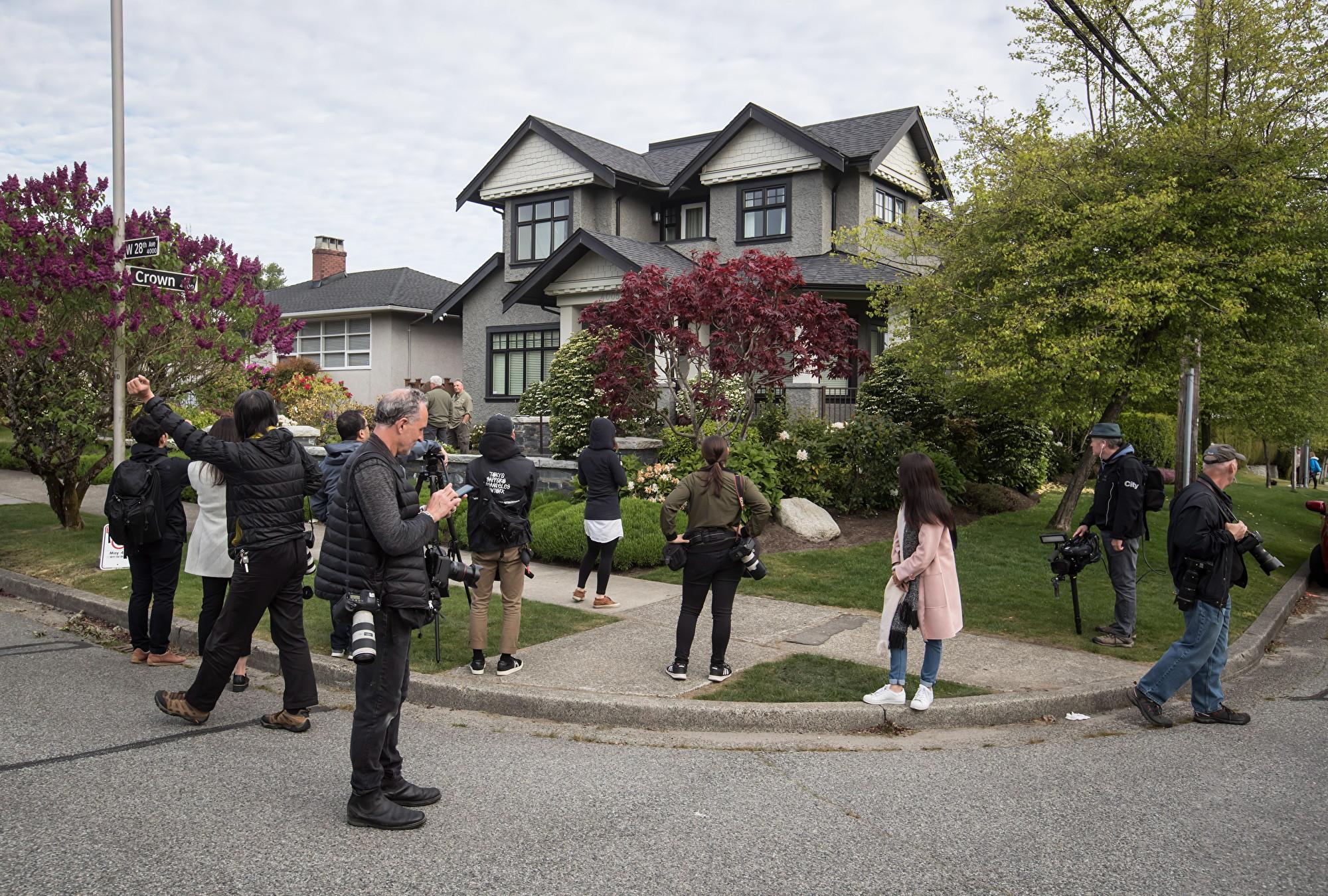 孟晚舟豪宅「入室未遂案」加警方確認3嫌疑人