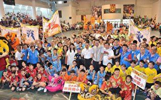 泰山狮王群雄争霸 发扬龙狮技艺文化