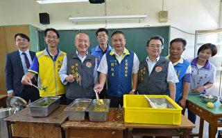 苗县长视察营养午餐 期勉选用在地食材落实稽查安全卫生