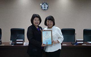 狮子会300-D1区拜会市长  黄敏惠感谢其对社会奉献