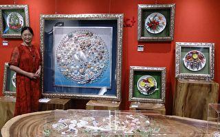 陳品諠巧藝寶石貝殼畫 盡顯多姿多采努力人生