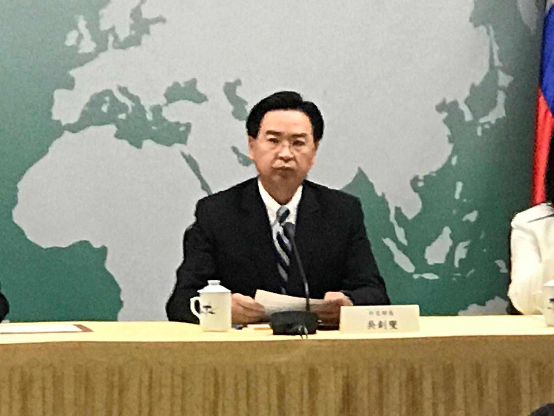 台外長:中共以欺騙手法奪取台灣邦交國