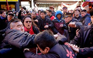 新年两狮队街头冲突 华警涉打人被控
