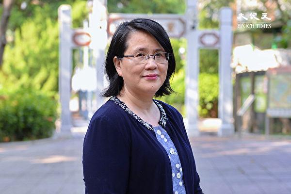 香港大紀元時報社長郭君。(宋碧龍/大紀元)