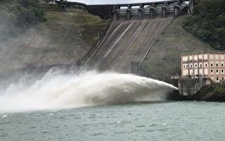 米塔颱風預估雨量上修  石門水庫提高放水量