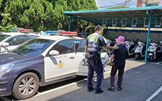 失智老妇迷路  中坜热心警察及时协助