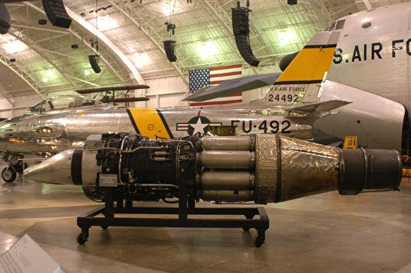 圖為通用電氣所生產的J47發動機。(維基百科公有領域)