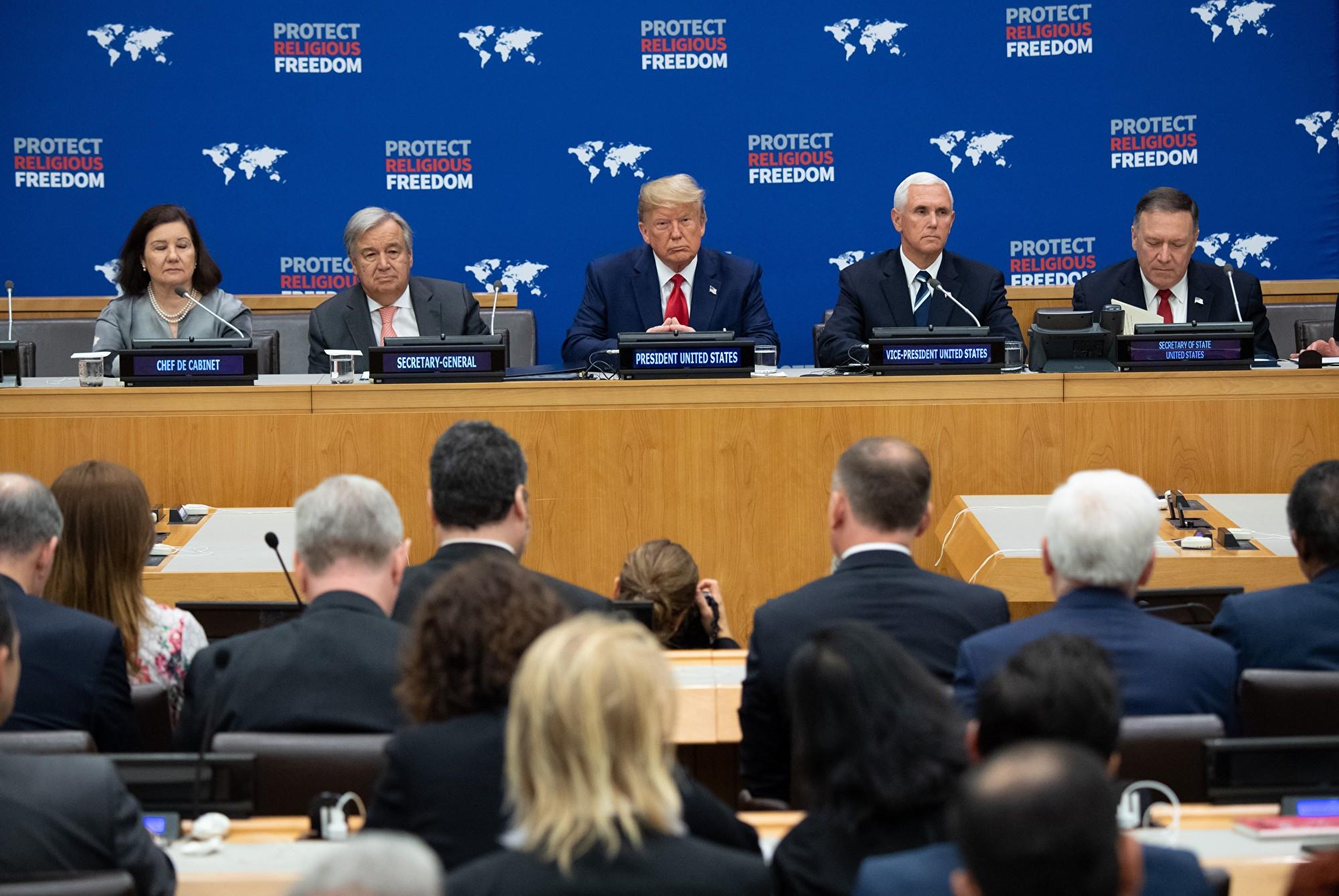 【直播】9.24 特朗普在聯合國大會上發表演講