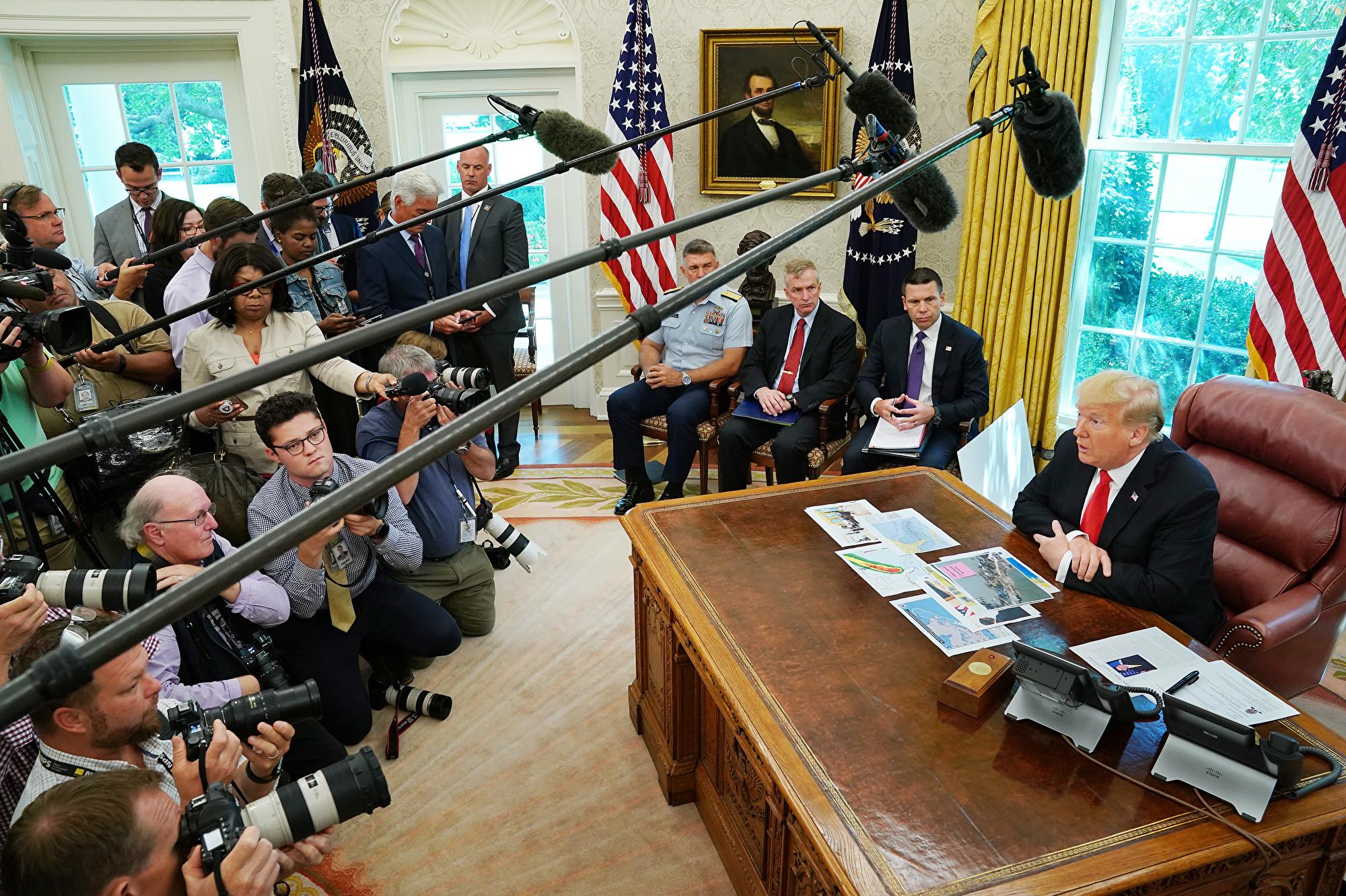 特朗普:中美貿易談判不想討論華為問題