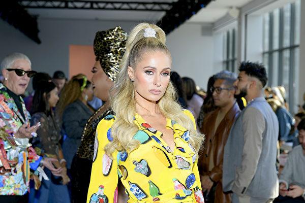 9月11日,Paris Hilton參加紐約時尚周活動。(Roy Rochlin/Getty Images)