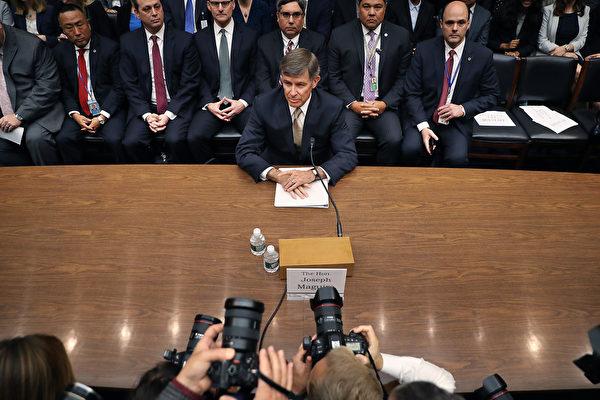 彈劾門 美高官作證 告密者不是直接見證人