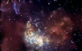 天文学家发现 三个巨大黑洞发生罕见碰撞