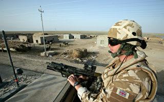 英军士兵持散弹枪 7秒击毙5名ISIS成员
