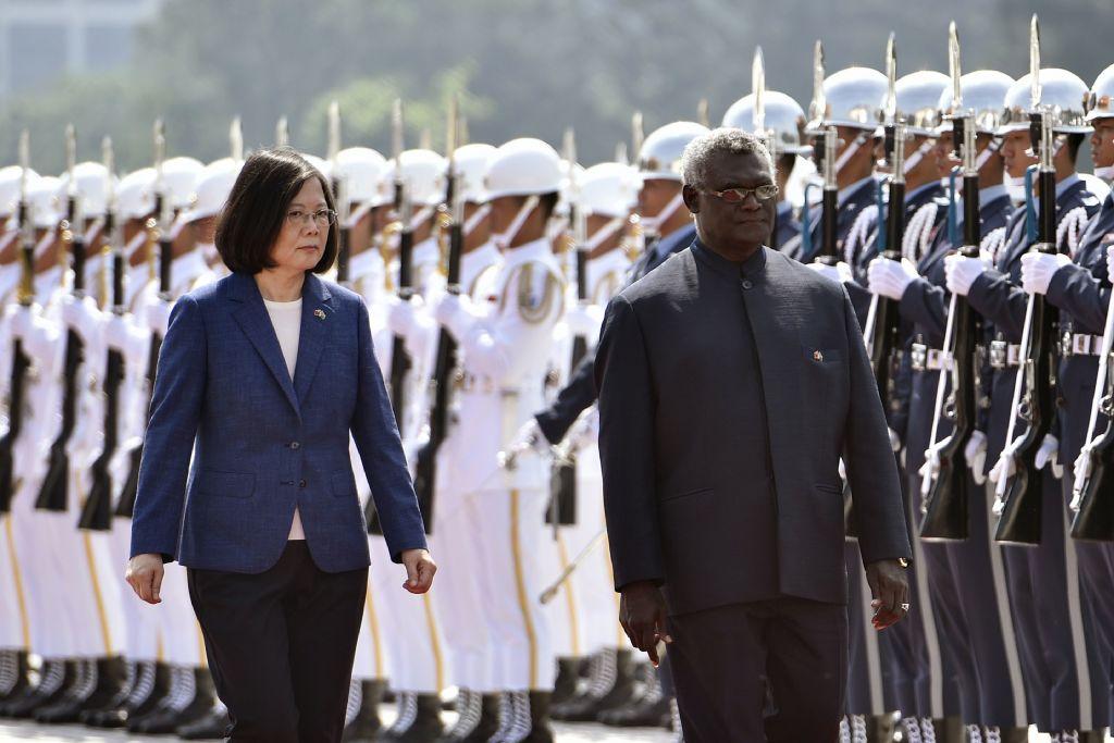 索羅門斷交 蔡英文:台灣不懼中共霸凌