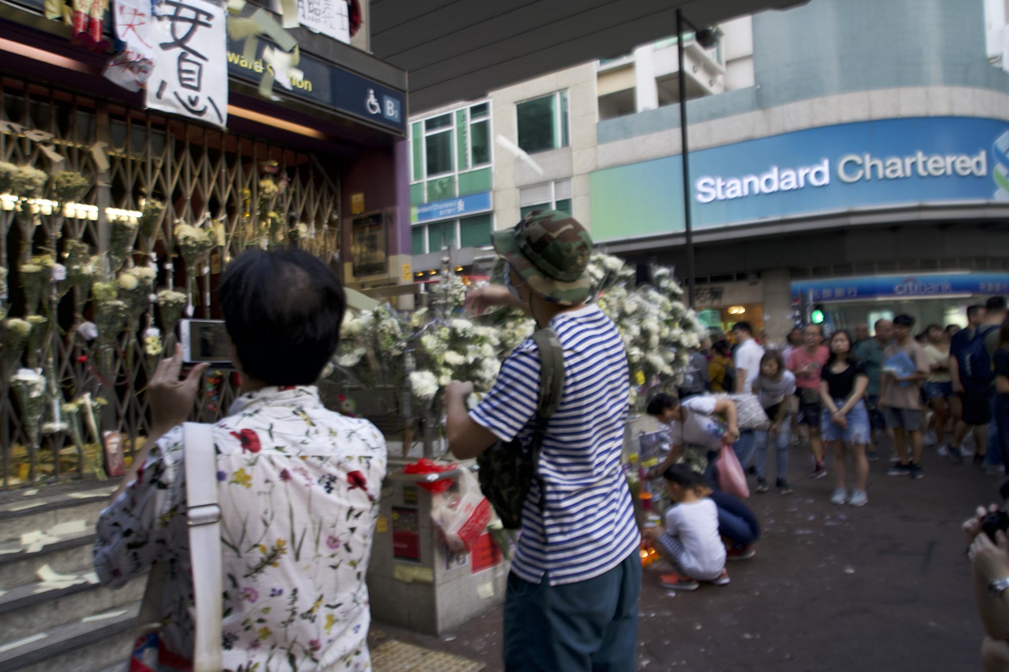 專訪香港青年:為自由抗爭 不怕白色恐佈