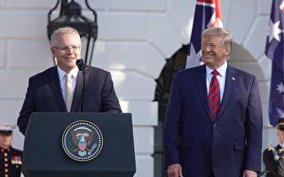美澳元首記者會 川普解釋三種貿易戰傳言