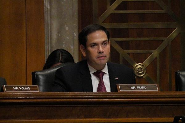 CECC共同主席、參議員魯比奧(Marco Rubio)。(李辰/大紀元)