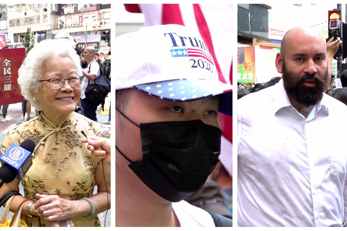 9.15自由行 港人訴求獲讚 年輕人無私奉獻