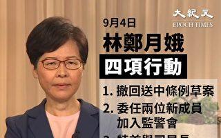"""【拍案惊奇】林郑撤修例 北京与港人互""""摊牌"""""""