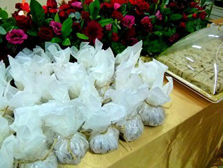 七里坡客製的紅藜飯糰。