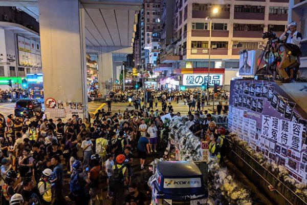 沒有戒嚴的戒嚴 中共政法委做法在香港實施