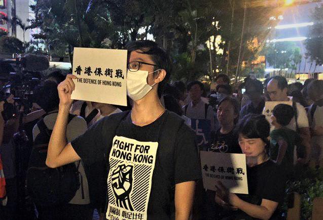 陳思敏:香港後生可畏 中共不安胡扯反送中病根