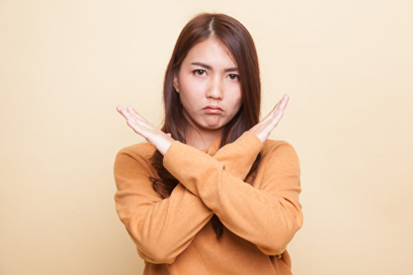 說「不」本身是在幫助別人瞭解我們的人際邊界。(Shutterstock)