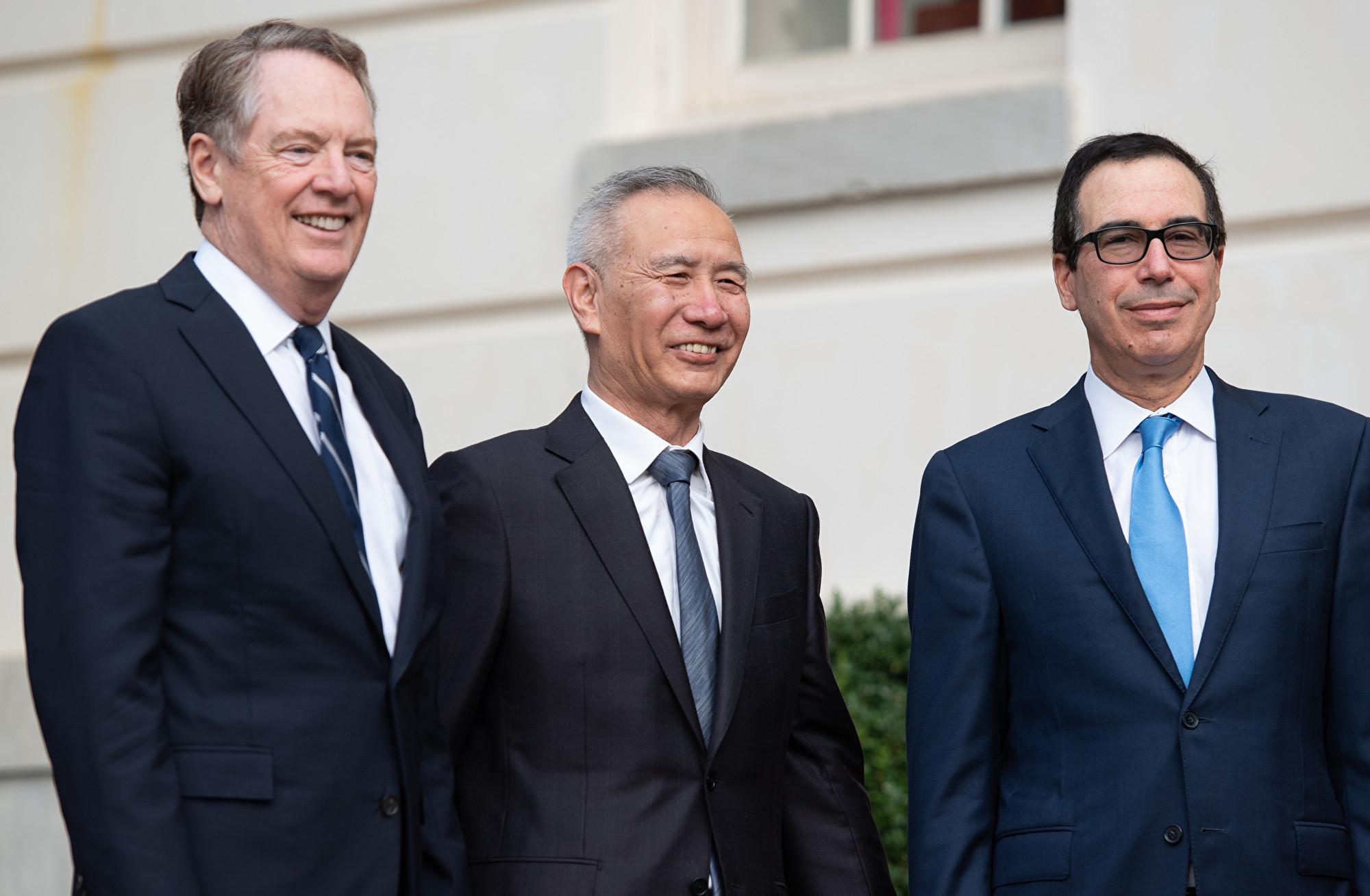 姆欽:中美若無文本協議 12月將如期加稅