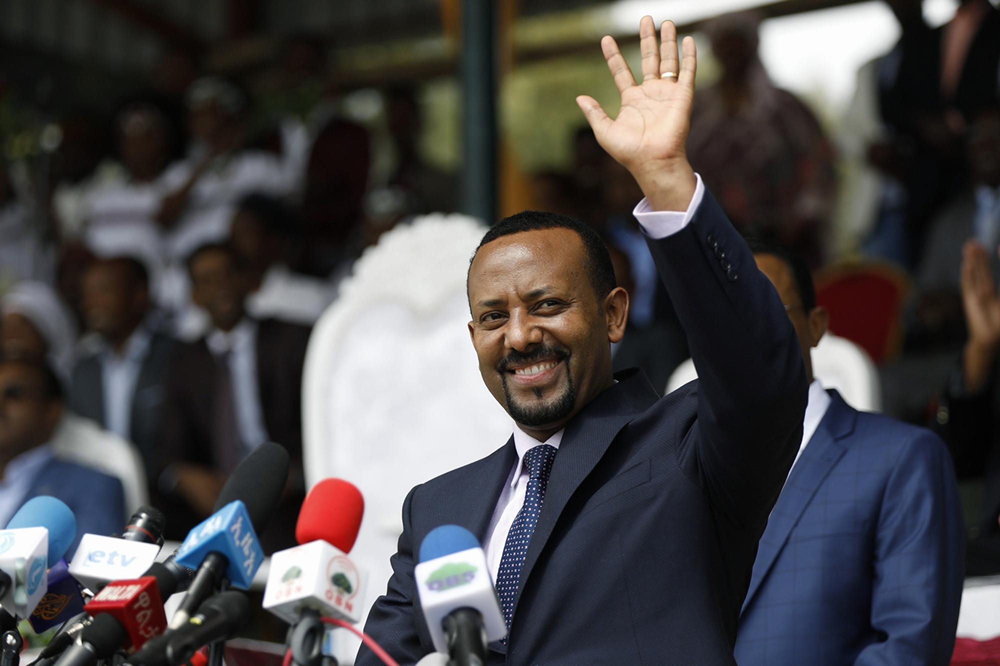 埃塞俄比亞總理獲2019諾貝爾和平獎
