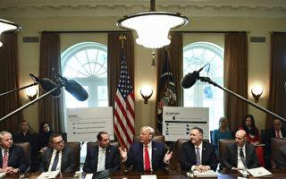 川普:與中方貿易協議談判進展順利