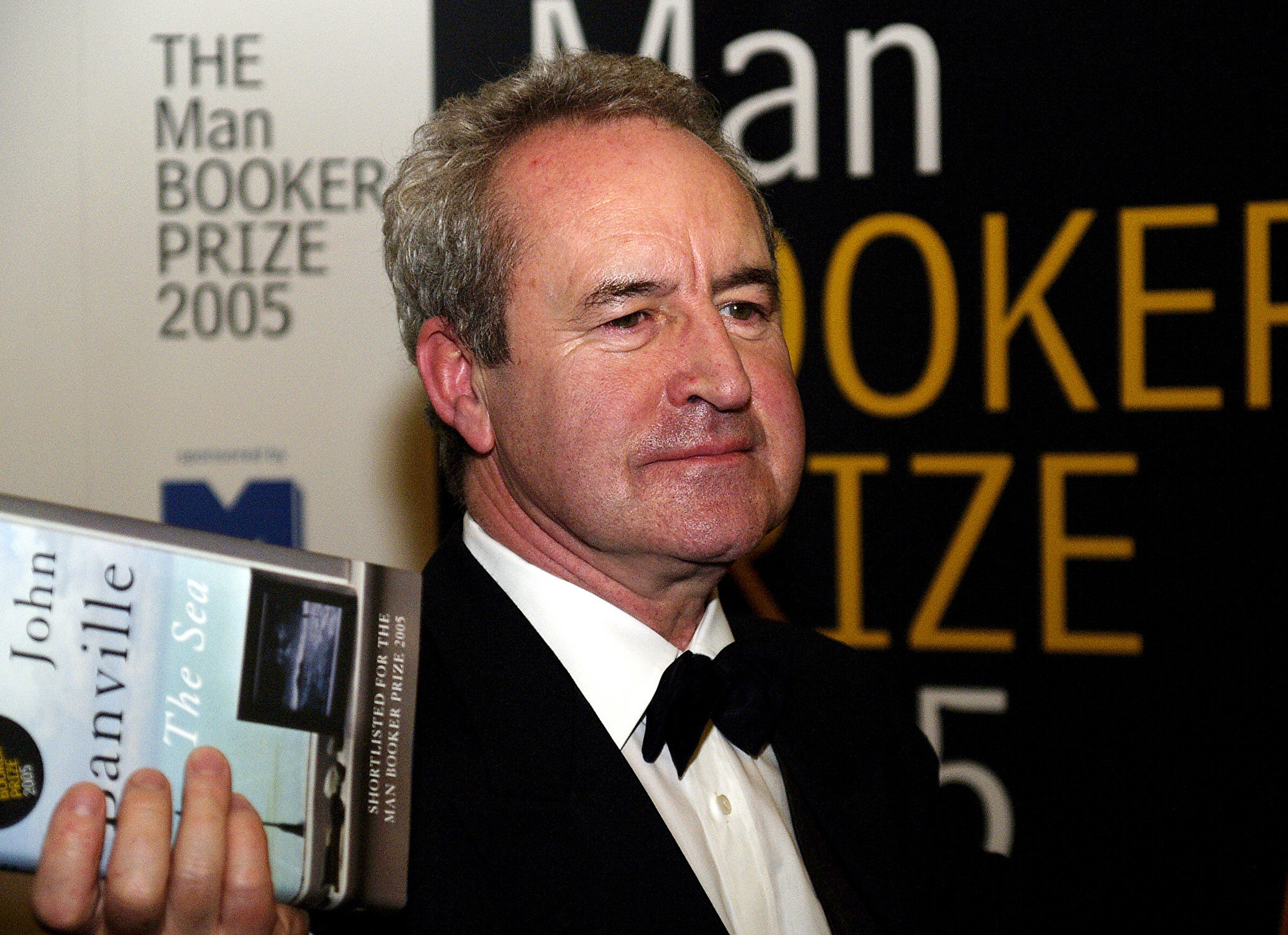 愛爾蘭名作家約翰·班維爾(John Banville)曾於2005年獲得布克獎(Booker Prize)。(MAX NASH / AFP)