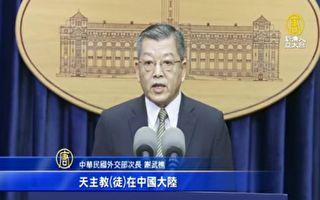 副總統國慶將訪教廷 外交部:願中國天主教自由