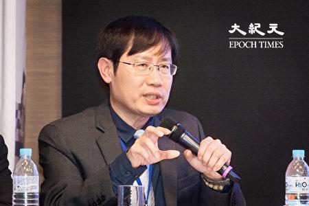 成功大學政治系暨政治經濟學研究所教授洪敬富31日出席「2019年國防安全研究院兩岸關係論壇」。