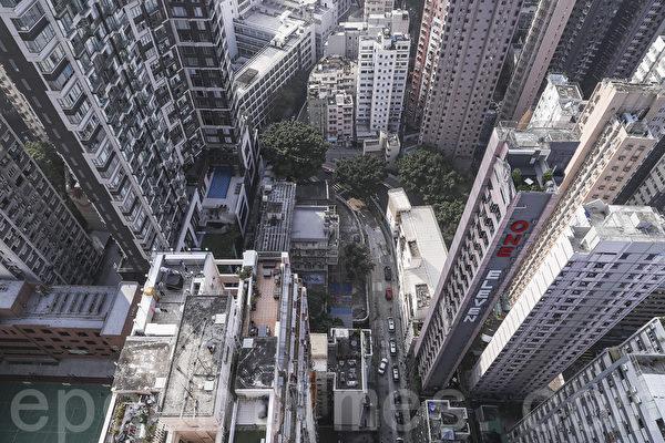 香港中區寫字樓租金下跌3.2%