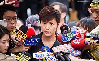 戈壁东:何韵诗遭泼漆 呼吁台湾立法防共