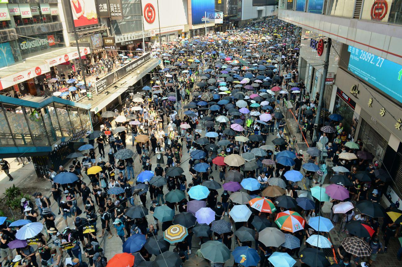 【10.1反極權直播】沒有國慶只有國殤 香港十一遊行
