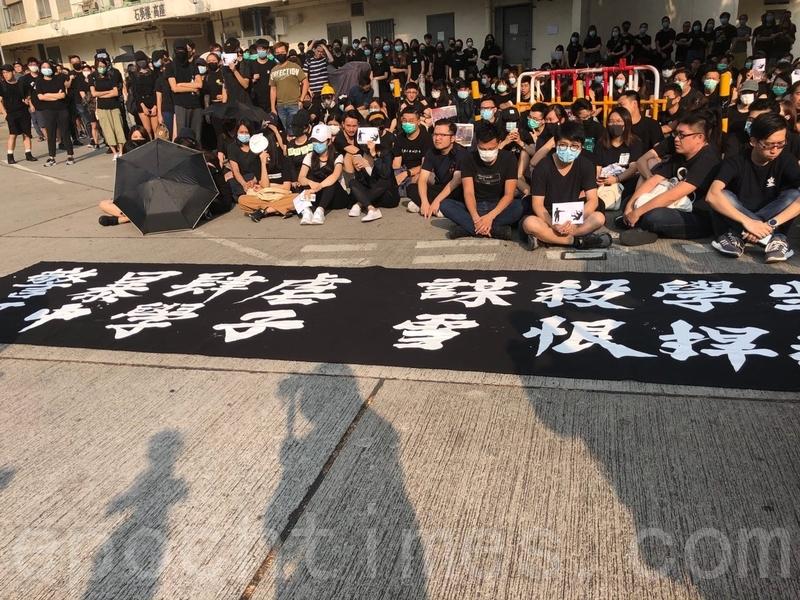港警開槍傷人 恐令抗議局勢進一步激化
