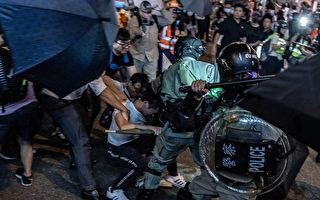 组图:10.3太古城抗争 港警发射催泪弹