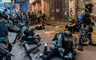組圖:10.6反緊急法大遊行 港警清場大拘捕