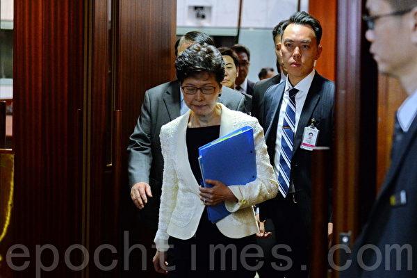 英媒披露拟撤换林郑 有意放风或故意泄露?