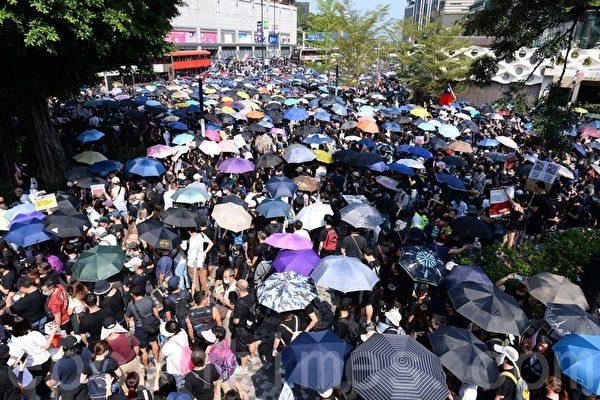 【直播回放】35万港人10.20游行 警方狂镇压