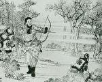 清朝黑馬將軍的傳說